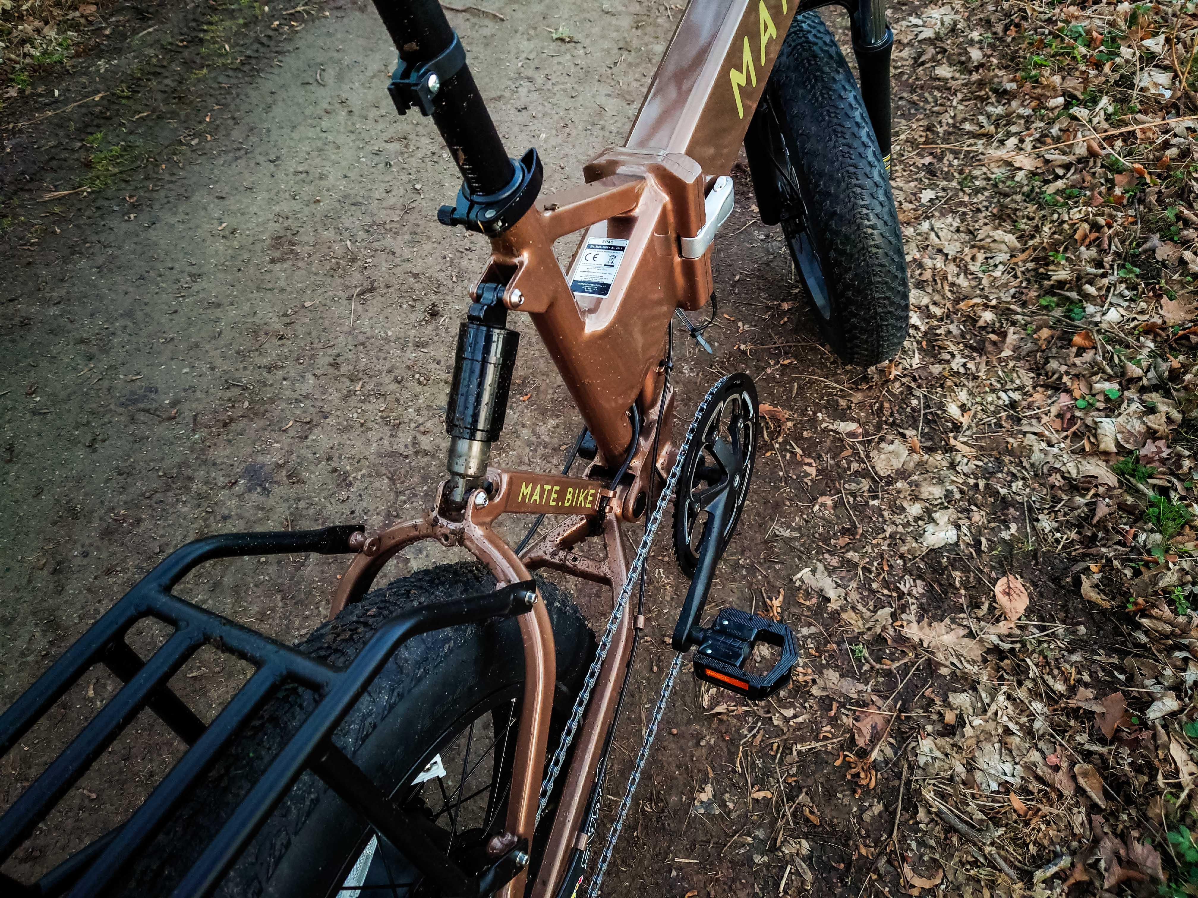 Der Akku des Mate.Bike ist top, die Schaltung eher flop.