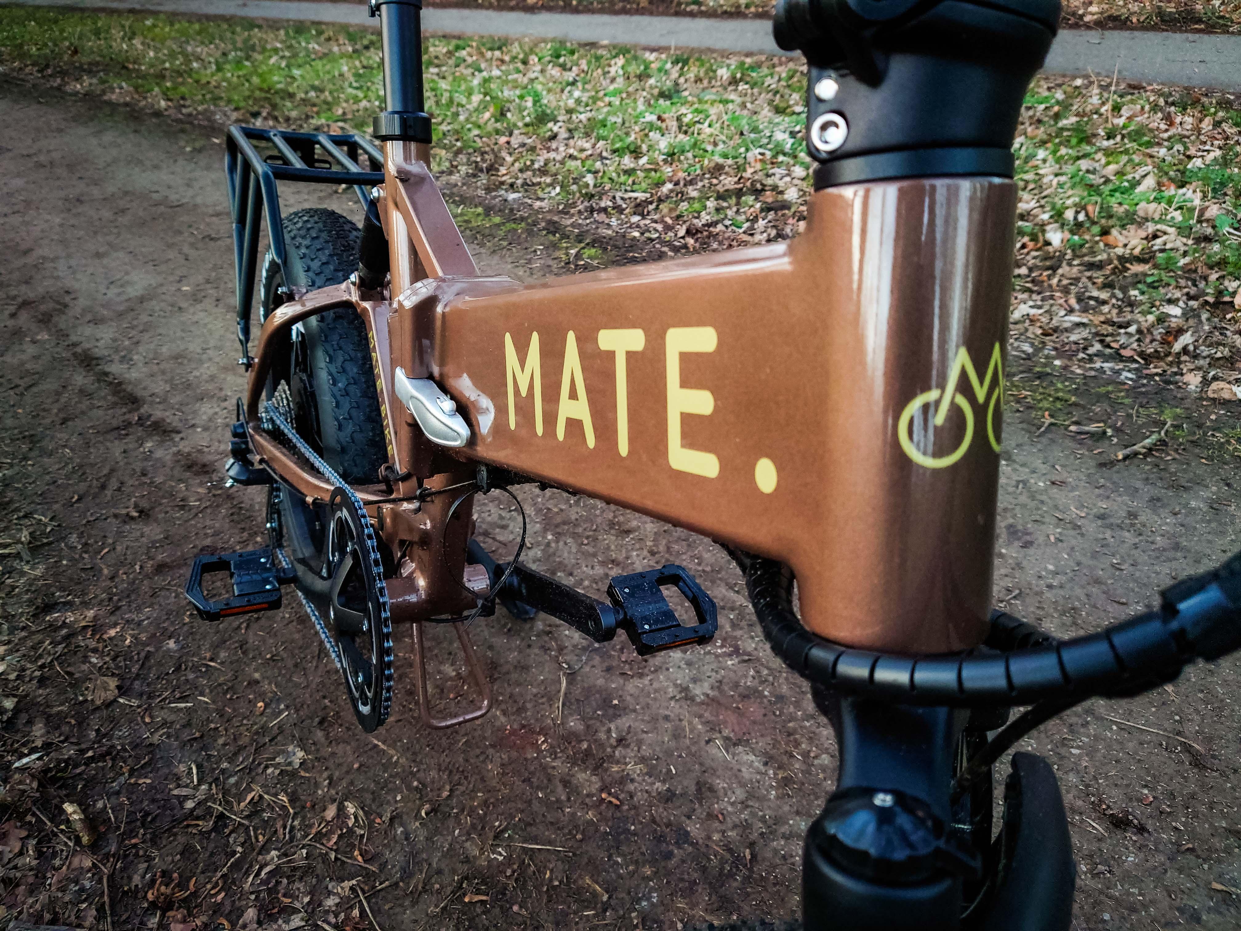 Das E-Bike der Dänen will vor allem eines: auffallen.