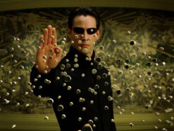 "Keanu Reeves als Neo in ""Matrix"""