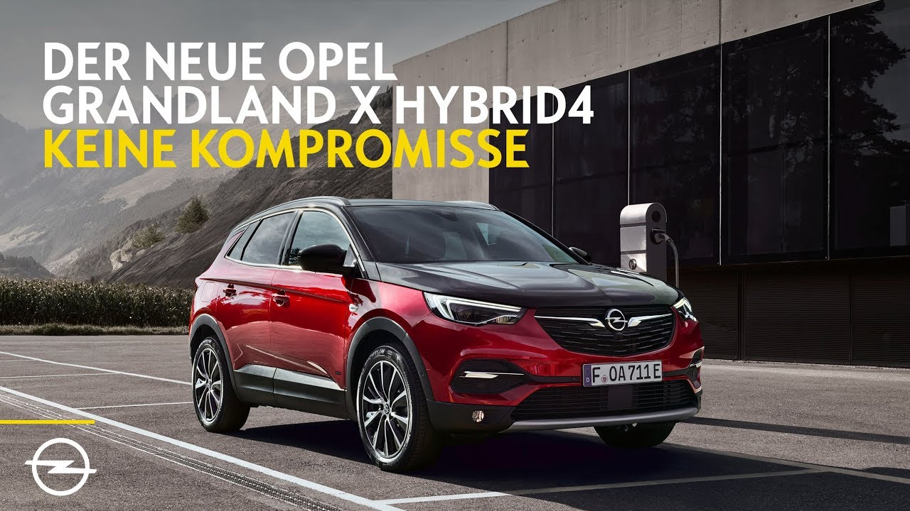 opel grandland x hybrid4 preis f r den plug in hybrid suv steht. Black Bedroom Furniture Sets. Home Design Ideas