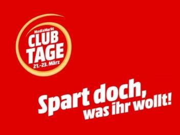 Banner zur Aktion Media Markt Clubtage