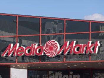 Media Markt Schriftzug