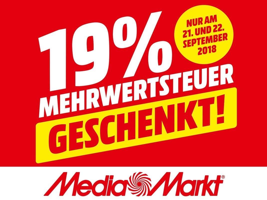 Mehrwertsteueraktion bei Media Markt
