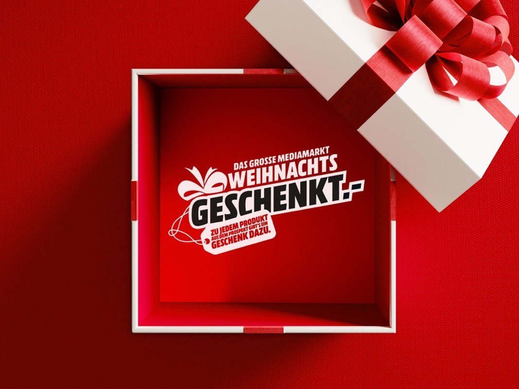 Media Markt Weihnachtsgeschenkt Aktion