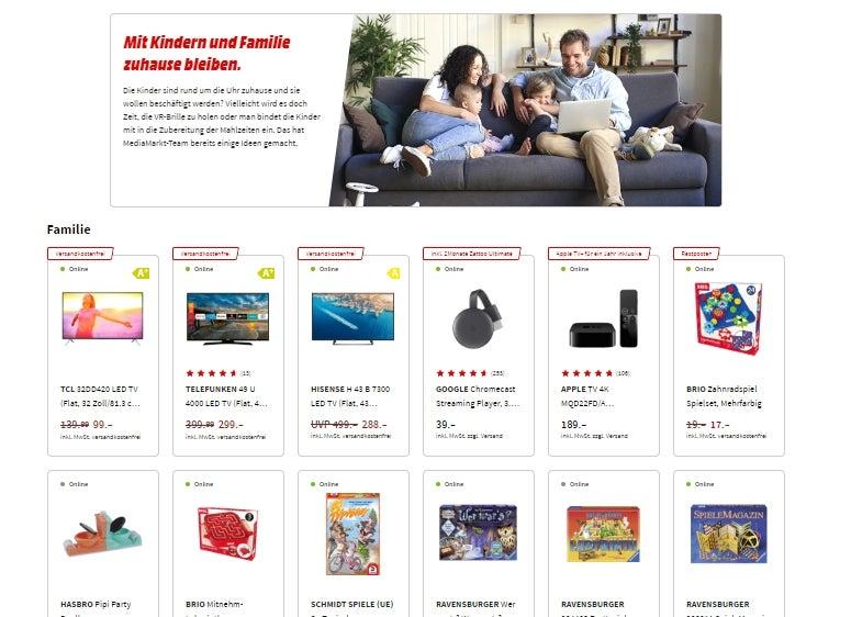 """MediaMarkt-Angebote """"Home-Office"""""""