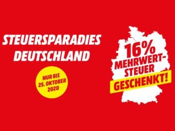 MediaMarkt Mehrwertsteuer-Aktion Oktober 2020