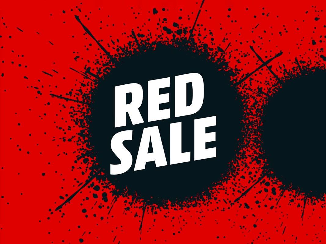 MediaMarkt Red Sale