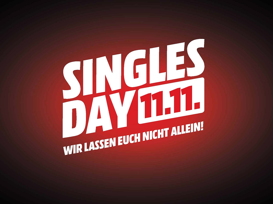 Singles Day bei Media Markt am 11.11.