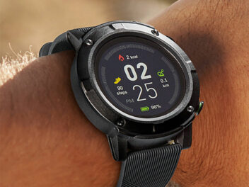 Medion GPS Sport Watch S2400 an Handgelenk