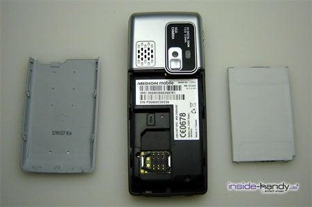 Medion mobile MD97200 - auseinander von hinten
