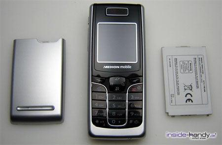 Medion mobile MD97200 - auseinander von vorn