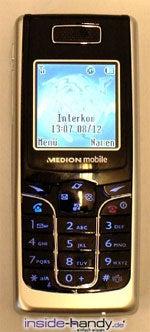 Medion mobile MD97200 - draufsicht