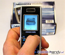 Medion mobile MD97200 - Foto machen
