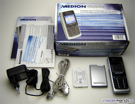 Medion mobile MD97200 - Lieferumfang