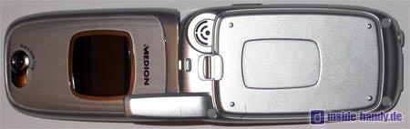 Medion Multimedia Handy ( MD 95100 ) - geöffnet