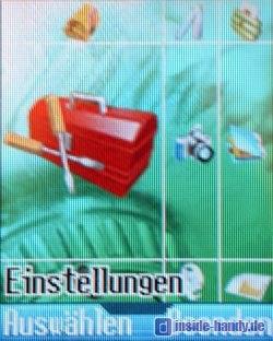 Medion Multimedia Handy ( MD 95100 ) - Hauptmenü