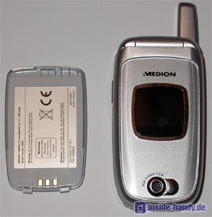 Medion Multimedia Handy ( MD 95100 ) - mit Akku