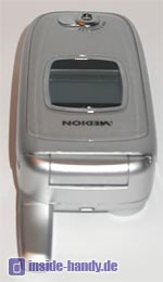 Medion Multimedia Handy ( MD 95100 ) - Oberseite