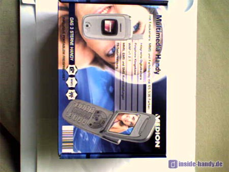 Medion Multimedia Handy ( MD 95100 ) - original Kamera Foto