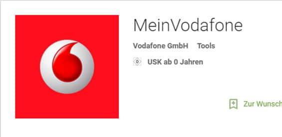MeinVodafone App Logo