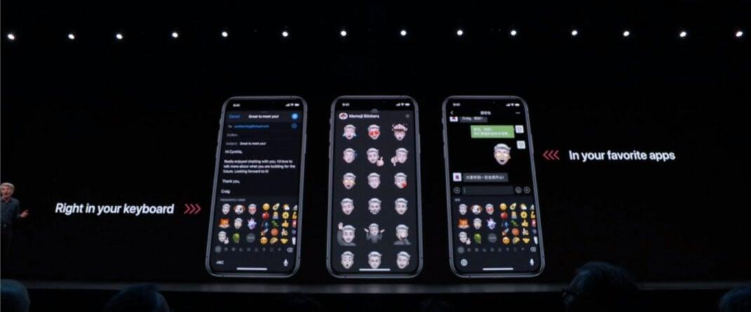 Memojis iOS 13