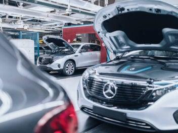 Mercedes-Benz EQC 400 4MATIC im Werk