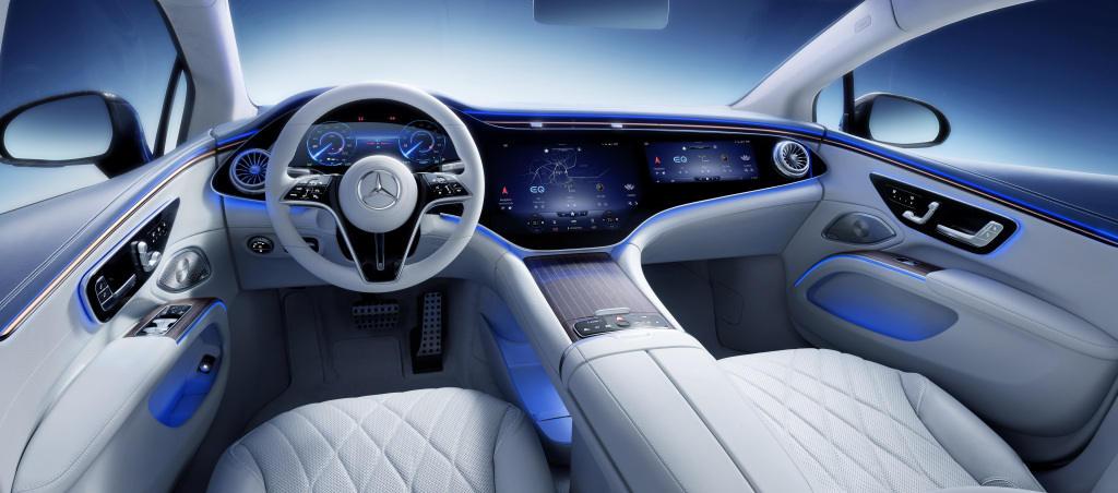 Mercedes-Benz EQS Innenraum