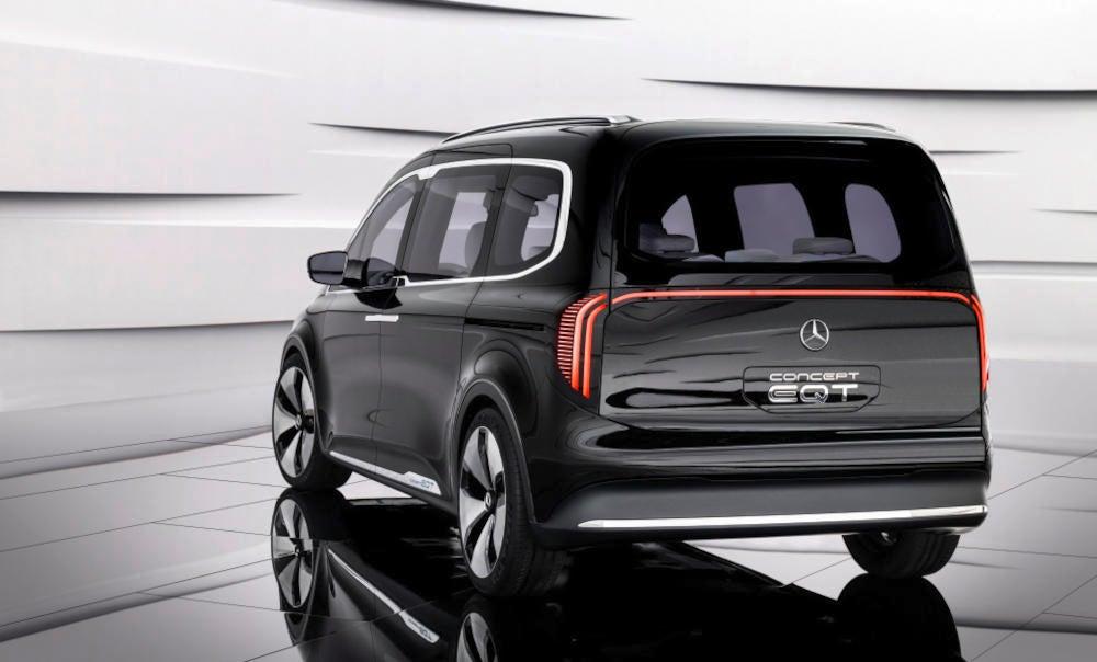 Mercedes-Benz EQT Concept Heckansicht