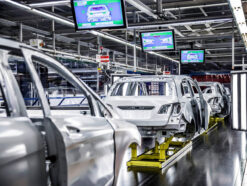 Mercedes-Benz Werk in Rastatt