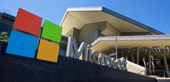 Der Microsoft Campus bei Seattle