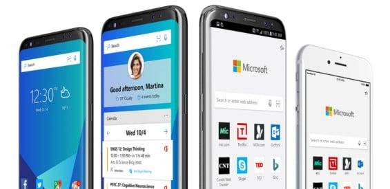Microsoft Edge für iOS und Android
