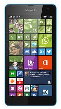 Microsoft Lumia 535 Datenblatt - Foto des Microsoft Lumia 535