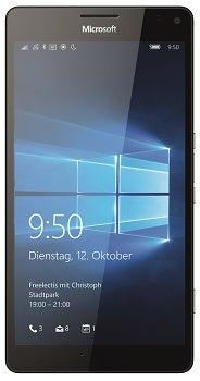 Microsoft Lumia 950 XL Dual SIM Datenblatt - Foto des Microsoft Lumia 950 XL Dual SIM