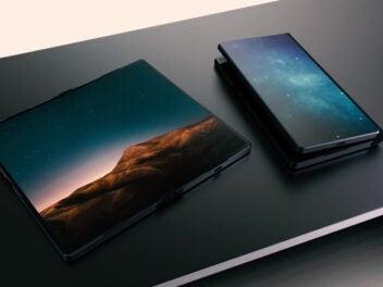 Microsoft Konzeot des Klapp-Smartphones Surface Phone Andromeda