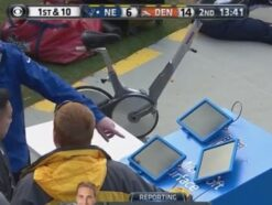 Microsoft Surface Tablet versagt in NFL-Halbfinale.