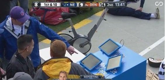 Microsoft Surface Tablet versagt in NFL-Halbfinale.