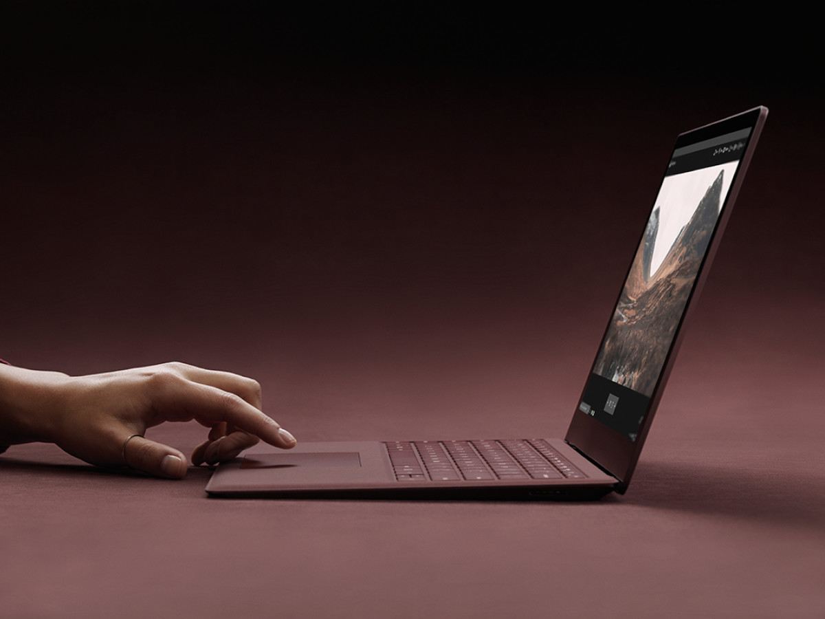 Der Microsoft Surface Laptop