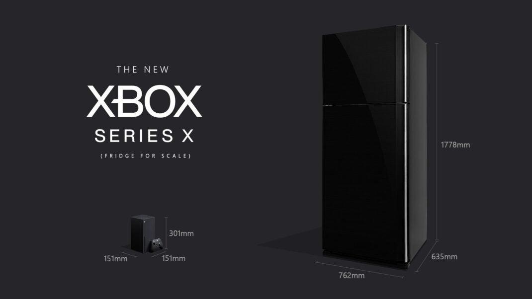 Microsoft Xbox Series X vs. Kühlschrank