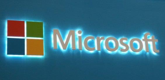 Microsoft-Logo Stand-MWC