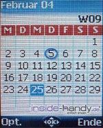 Mitsubishi M341i - Kalender