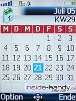 Mitsubishi M430i - Kalender