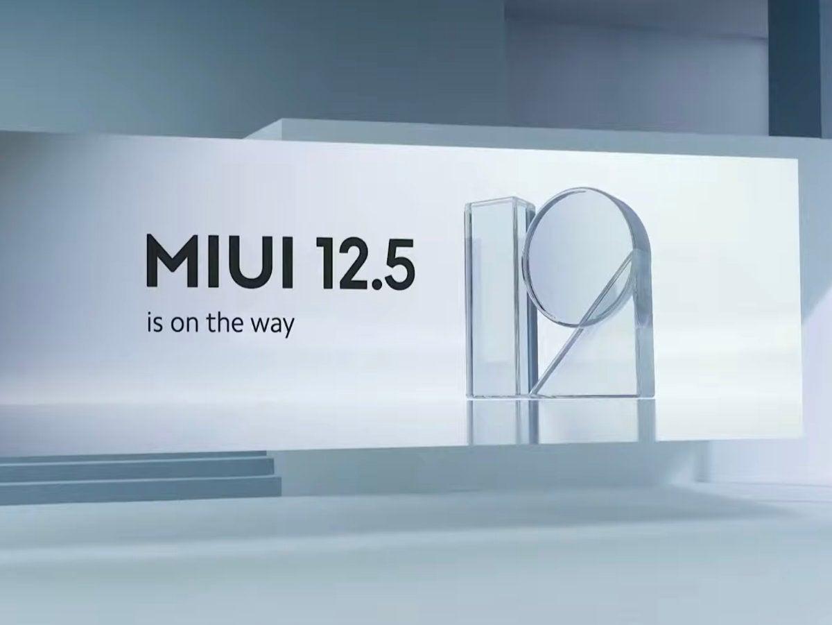 MIUI 12.5 Symbolbild