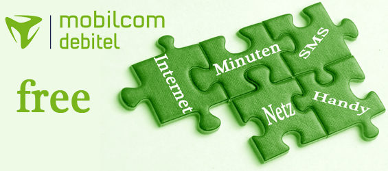 Bausteine des Free-Tarifs von Mobilcom-Debitel