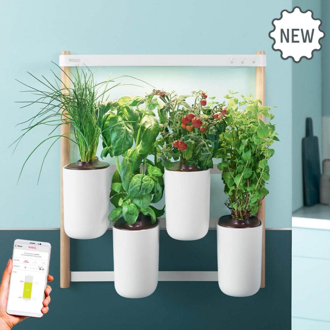 Smartes Indoor Gartensystem