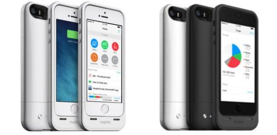 mophie Space Pack iPhone Hülle Speicher und Akku