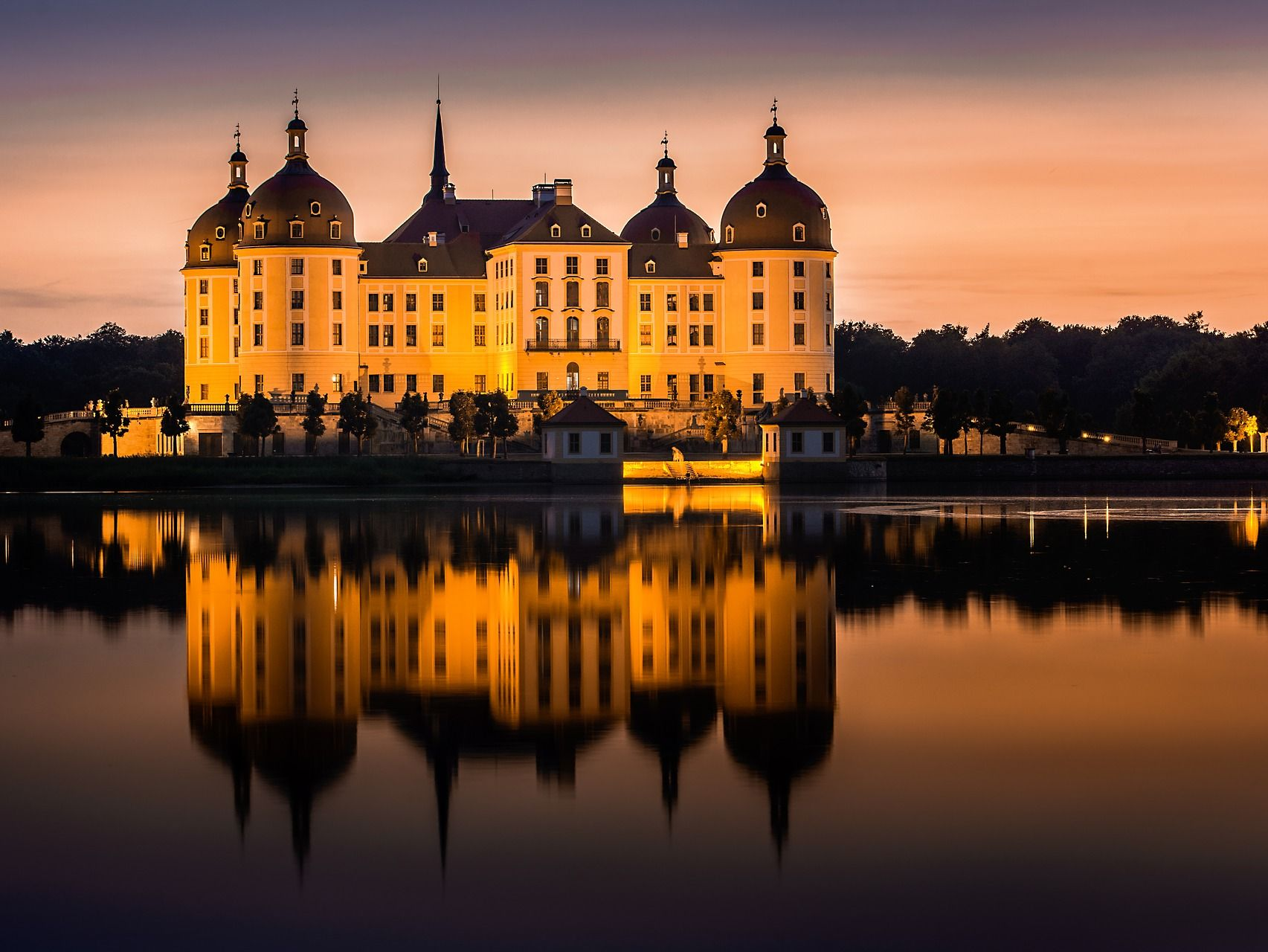 Die Moritzburg - Drehort für Drei Nüsse für Aschenbrödel