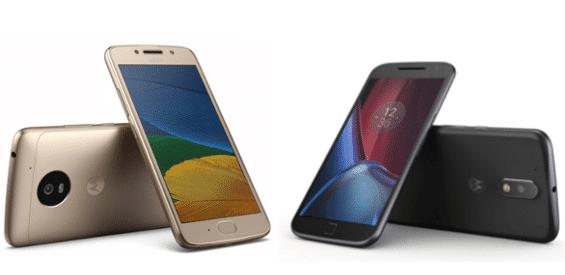 Moto G4 und G5 im Vergleich