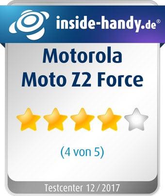 Moto Z2 Force im Test: 4 von 5 Sternen
