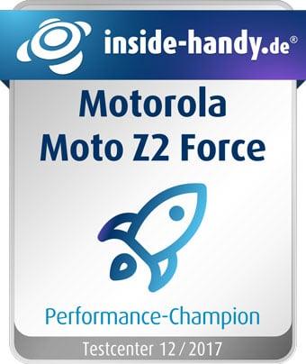 Moto Z2 Force im Test: Performance-Champion