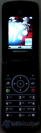 MOTORAZR2 V8: Display beleuchtet